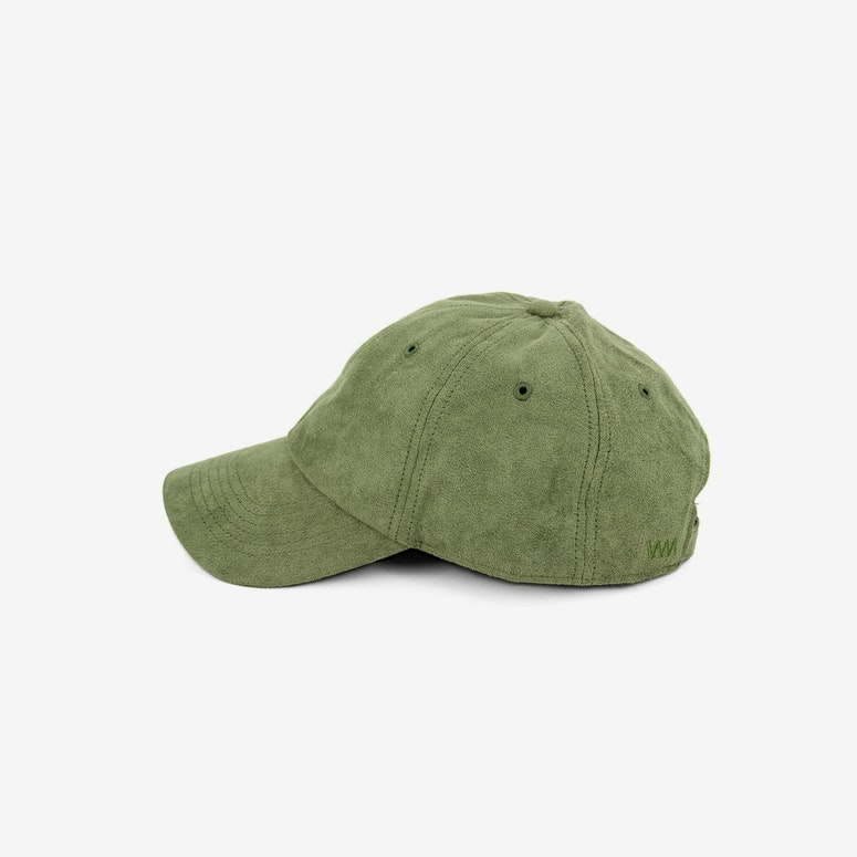 Well Made Take it Slow Suede Strapback Olive