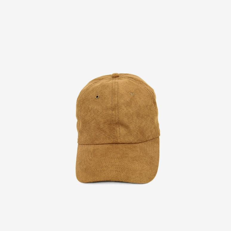 Well Made Take it Slow Suede Strapback Tan
