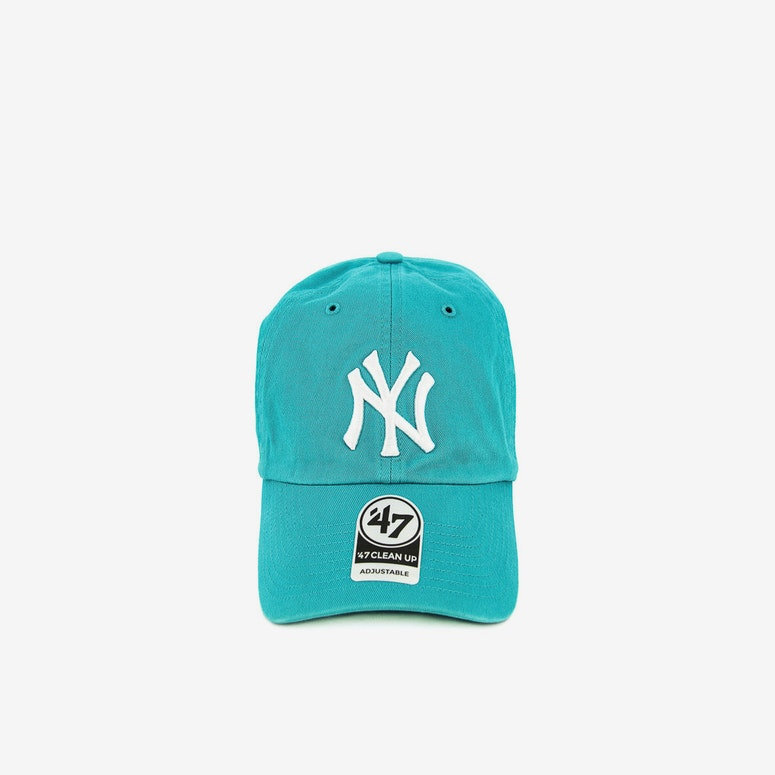 47 Brand New York Yankees Clean Up Strapback Teal
