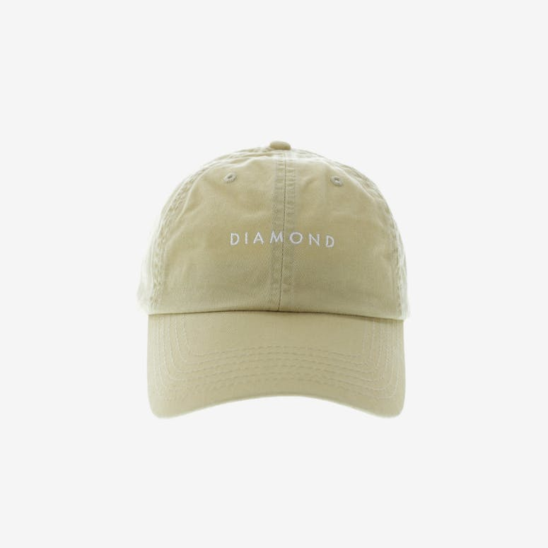 Diamond Supply Leeway Sports Strapback Khaki