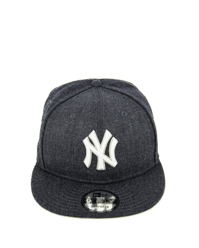 New Era Yankees Heather Crisp Snapback Navy