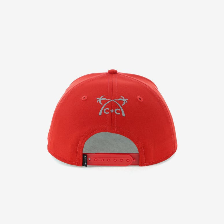 Crooks & Castles Coca Snapback Red
