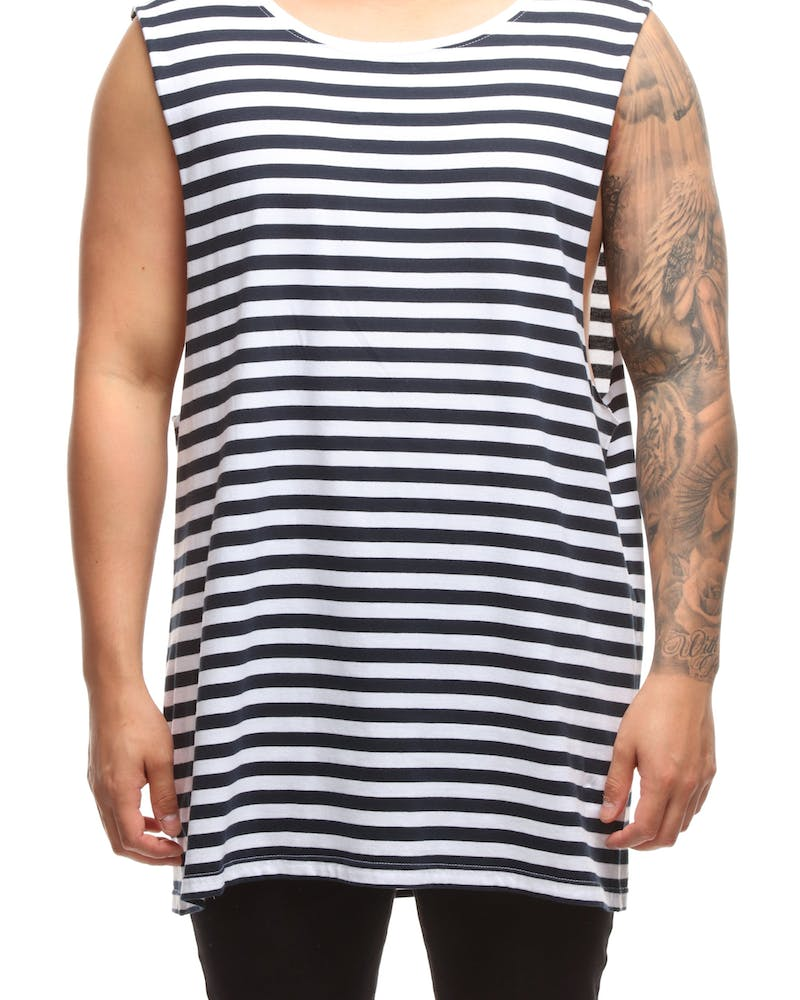 AS Colour Barnard Tank Navy/White