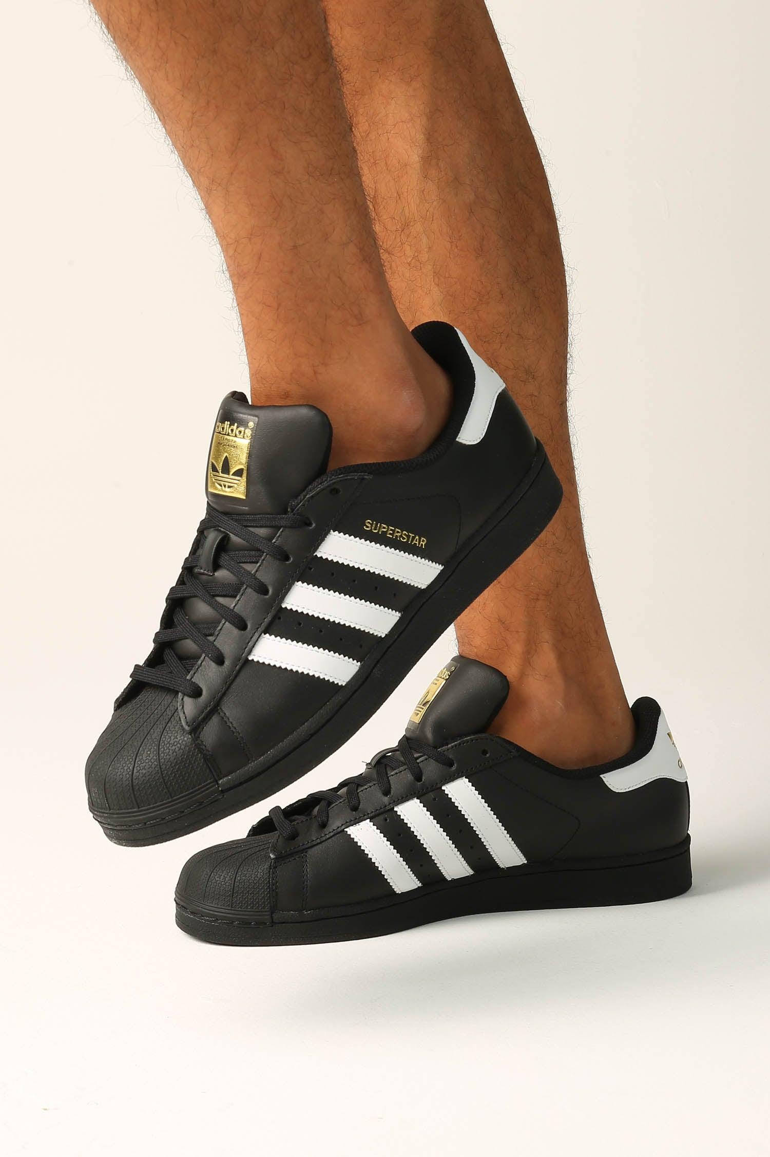 Superstar Foundation Shoe Black/white