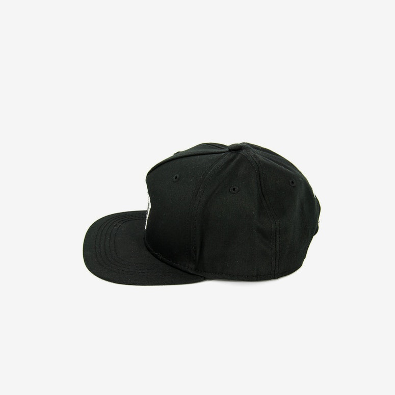 Crooks & Castles Medusa Patch Snapback Black