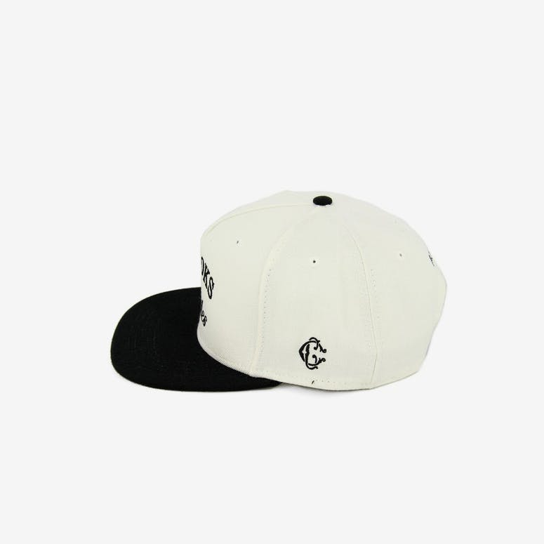 Crooks & Castles Timeless Snapback White/Black