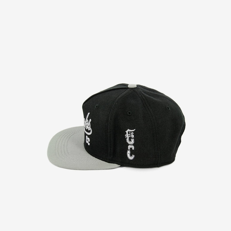 Crooks & Castles Syndicate C Snapback Black/Grey