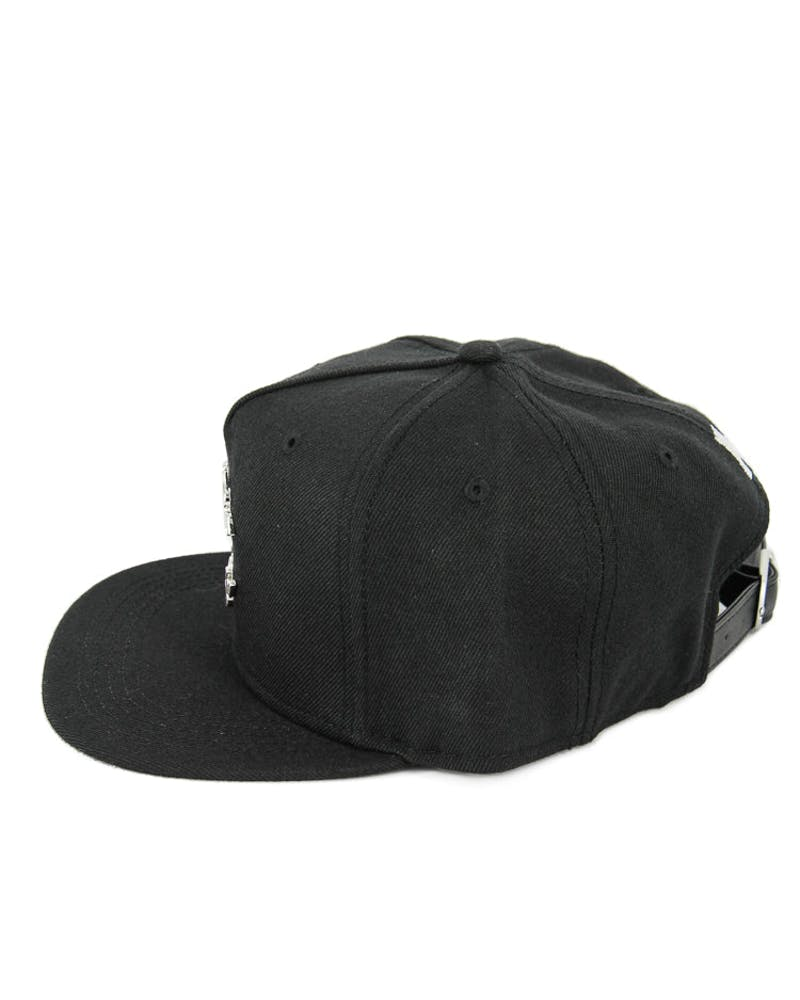 Crooks & Castles Thuxury Chain Strapback Black/Silver
