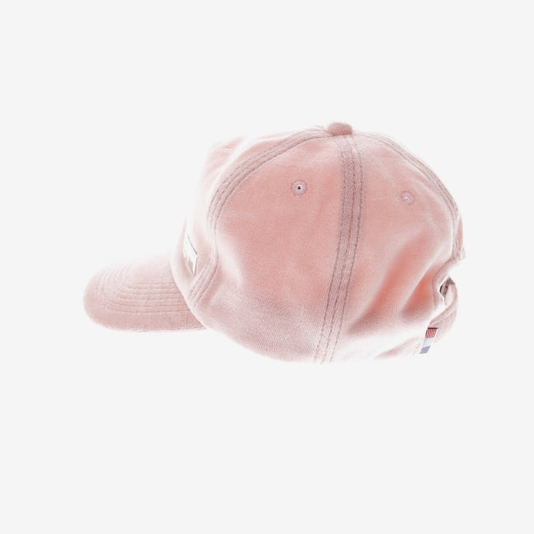 Carre Douilet Velour Strapback Light Pink