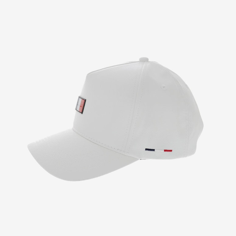 Carré Patriot Leather Strapback White