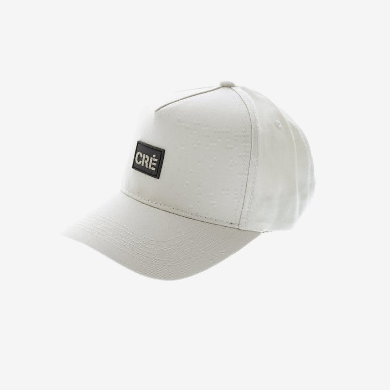 Carre Meilleur Rubber Badge Strapback Stone