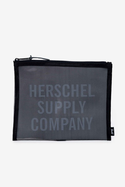 Herschel Supply Co Network Pouch Large Mesh Black