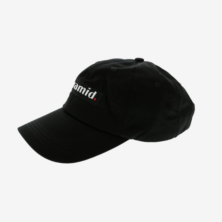 Black Pyramid Pyramid Logo Dad Hat Black