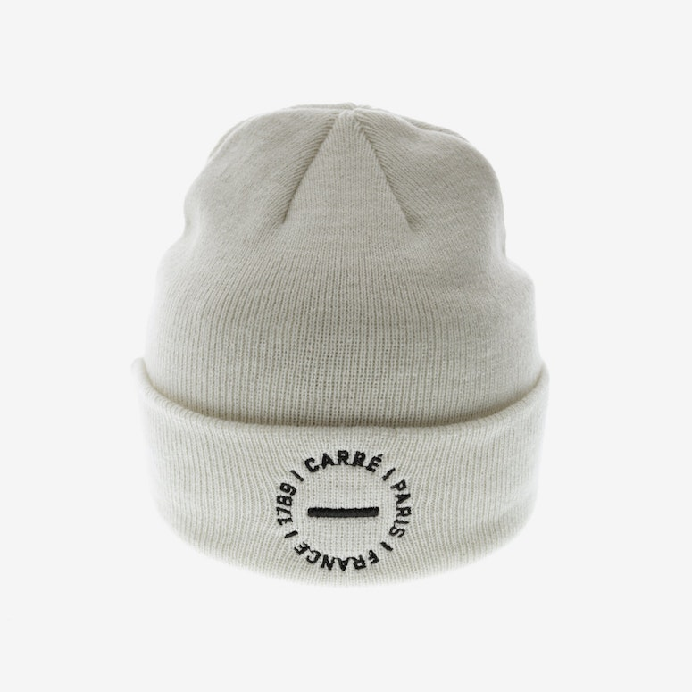 Carré Rounded Beanie Off White
