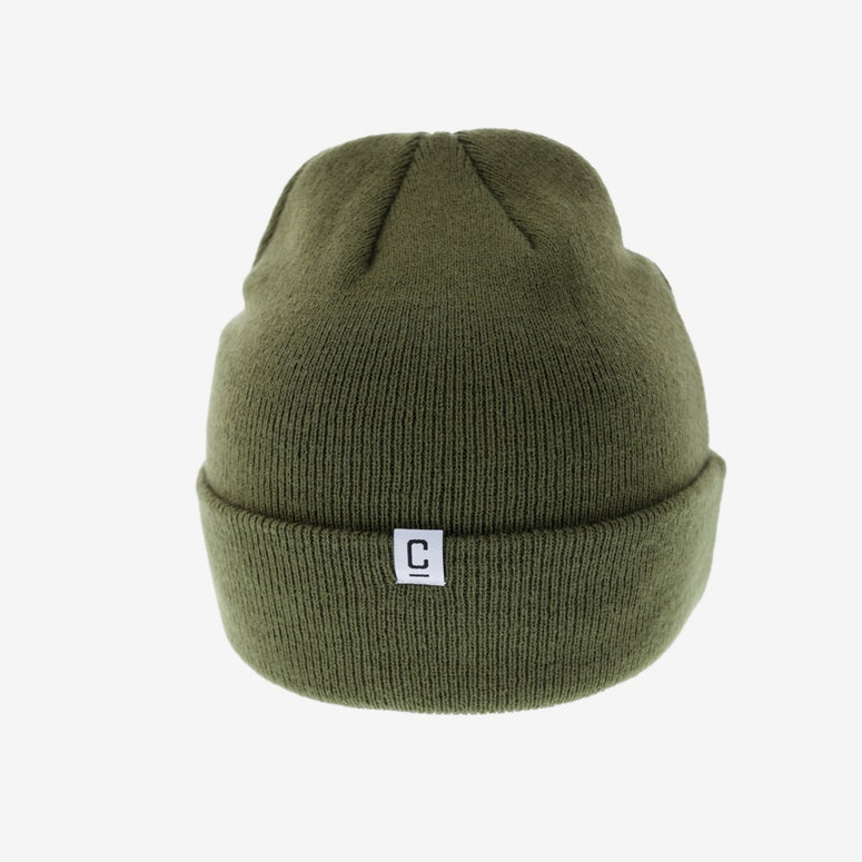 Carré Rounded Beanie Olive