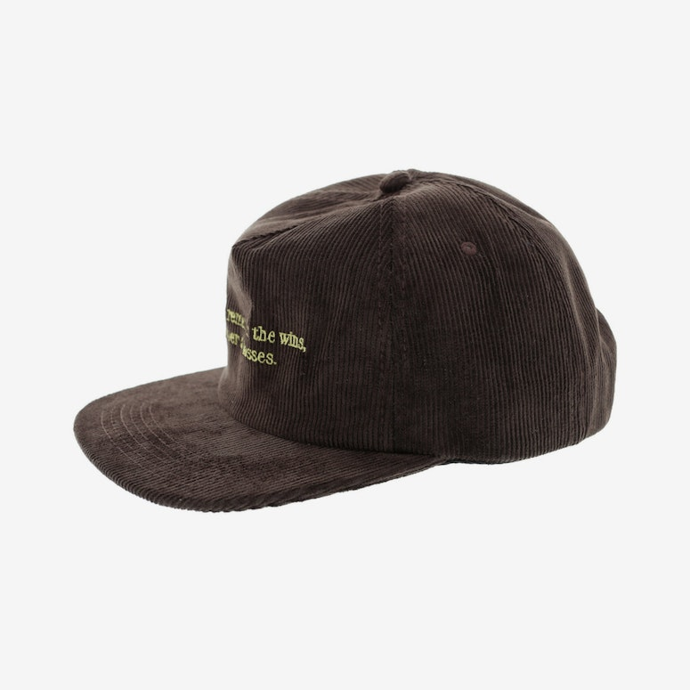 Draft Day Wins Snapback Brown