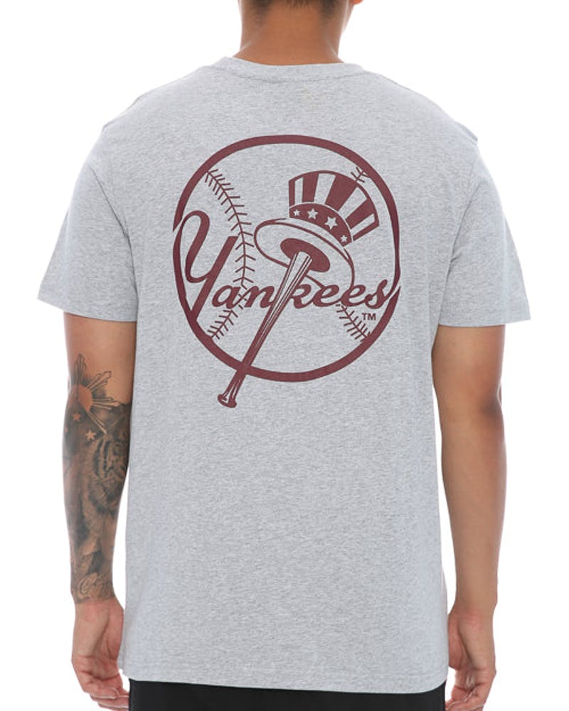 Majestic Athletic Thune Yankees Tee Grey