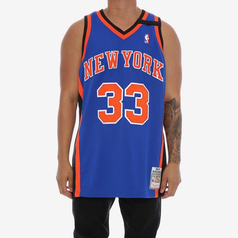 hot sales 74d2f de883 Mitchell & Ness New York Knicks Patrick Ewing '33' Authentic Hardwood  Classics 98-99 Jersey
