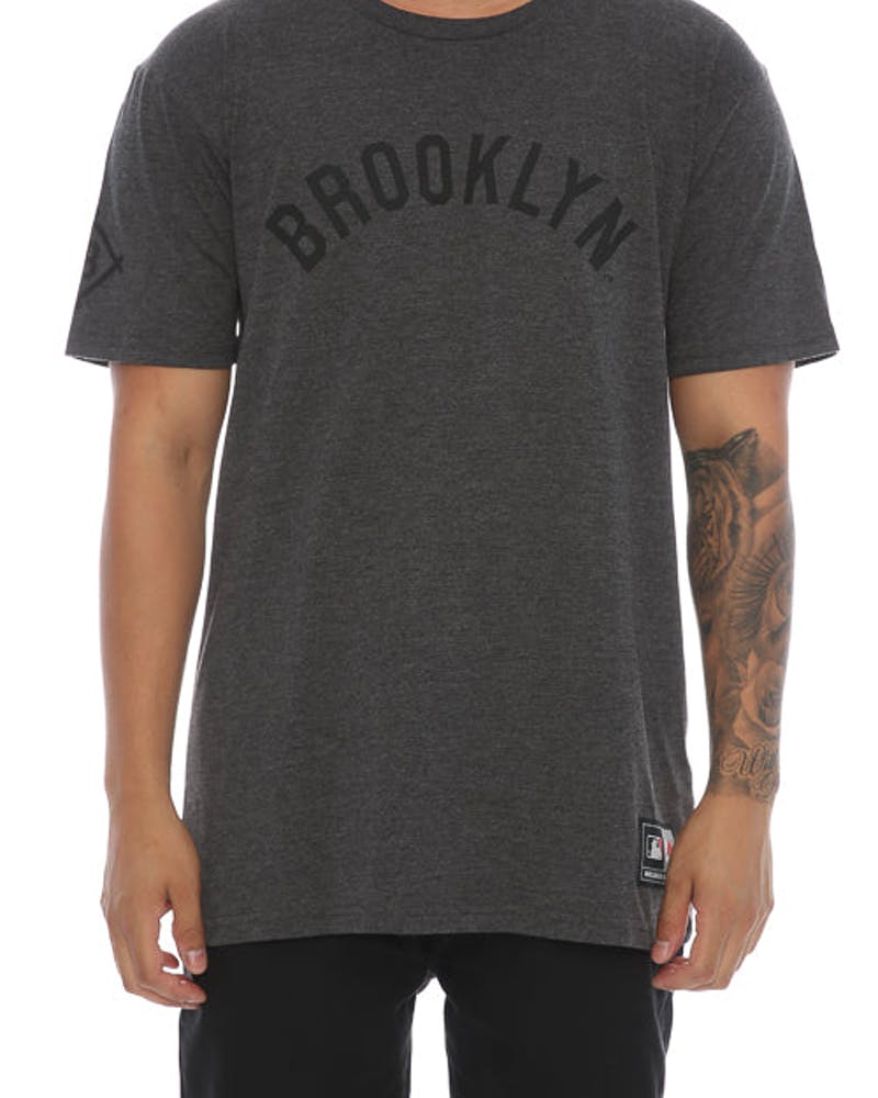 Majestic Athletic Gothyna Brooklyn Tee Charcoal
