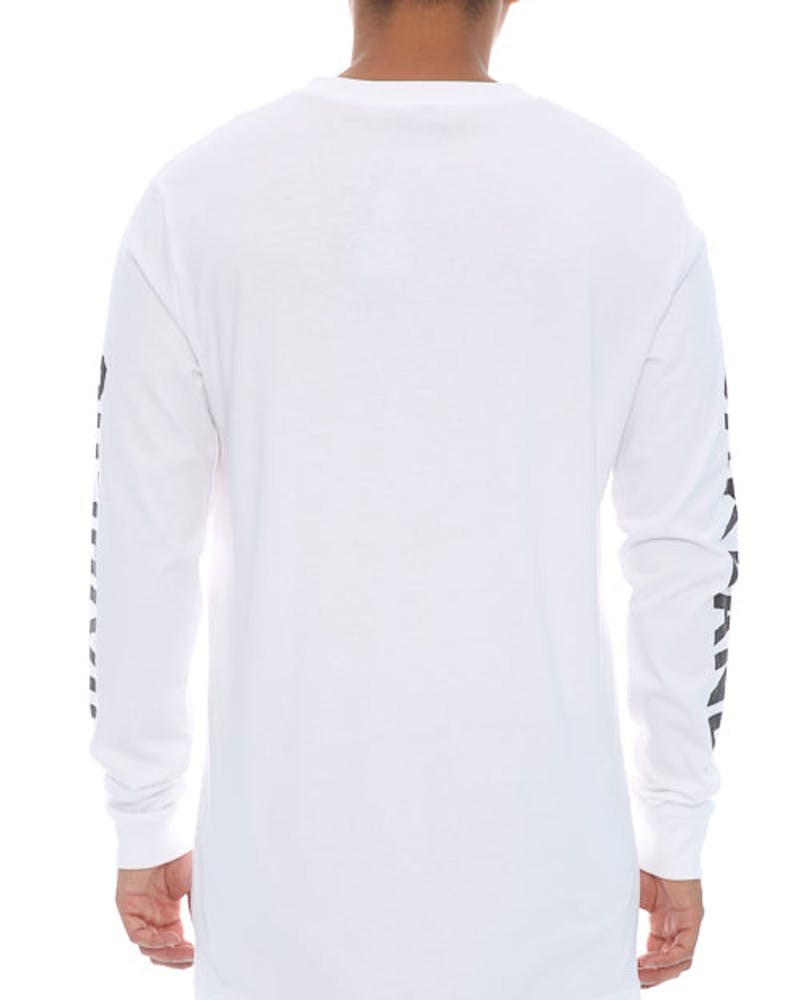Majestic Athletic Mavern Long Sleeve Tee Raiders White
