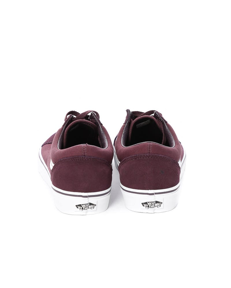 Vans Old Skool Burgundy/White