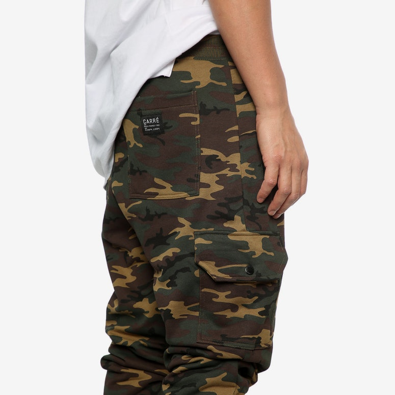 Carré Guerrier Trackpant Camo