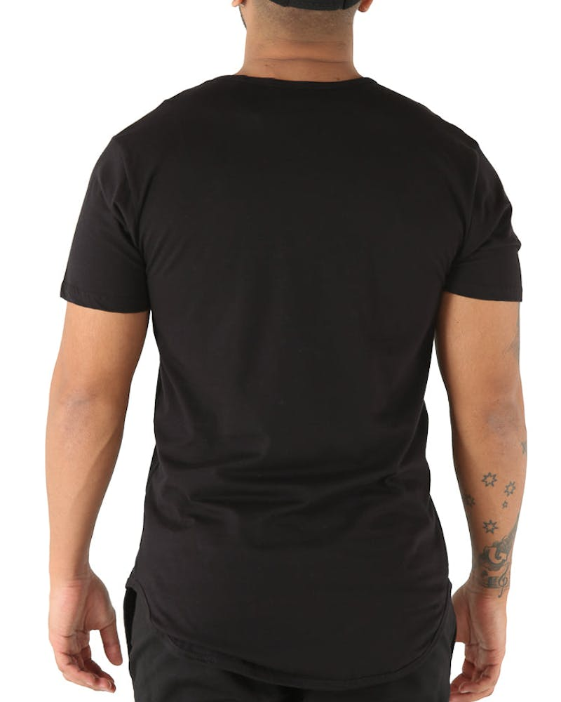 EPTM Panther Embroidery Tee Black