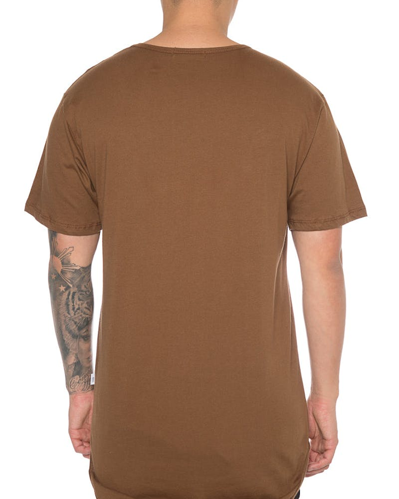 EPTM Panther Embroidery Tee Brown