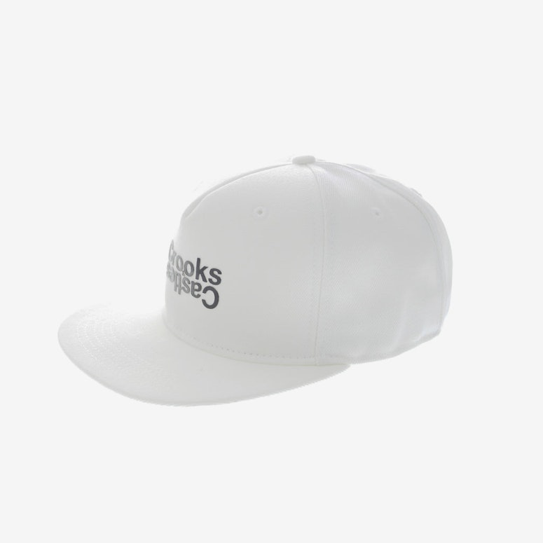Crooks & Castles Opposite Snapback White
