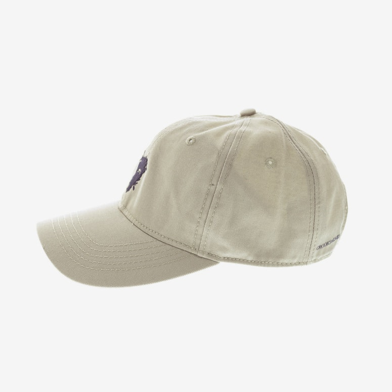 Crooks & Castles Cryptic Medusa Sports Cap Khaki