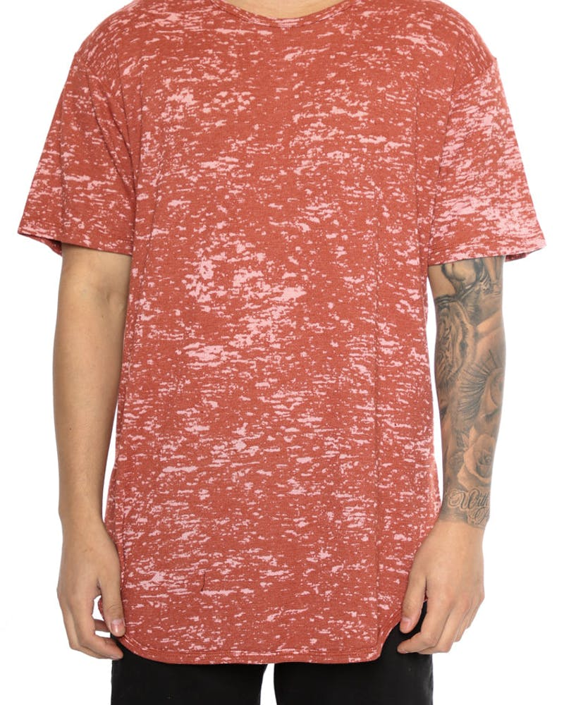 EPTM Burn Out OG Long Tee Rust