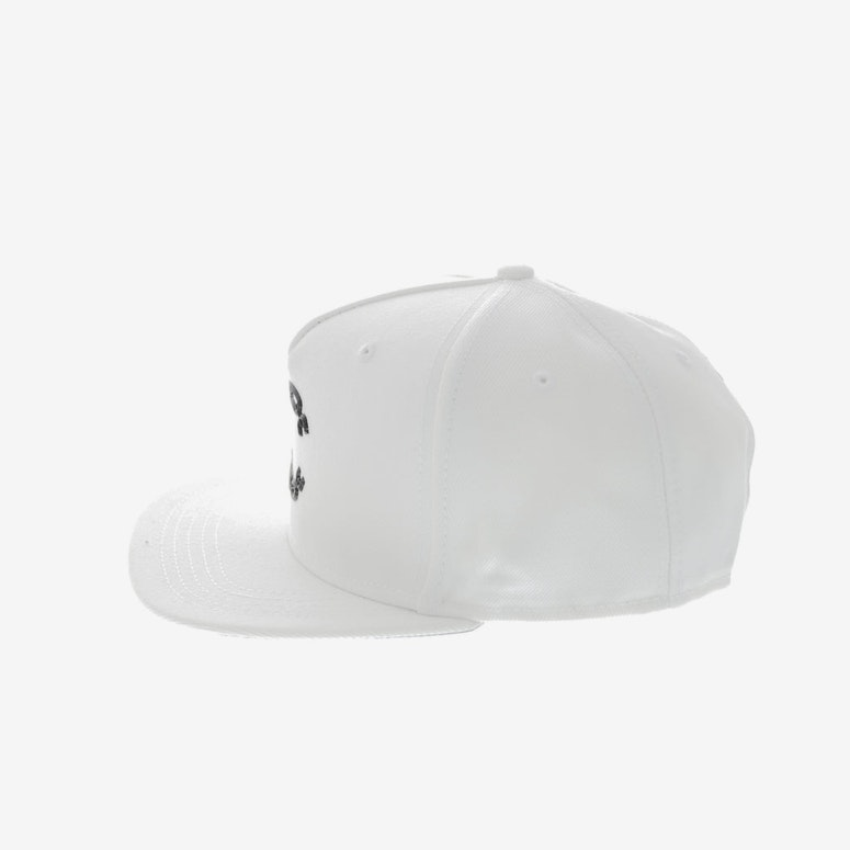 Crooks & Castles Chain C Snapback WHITE