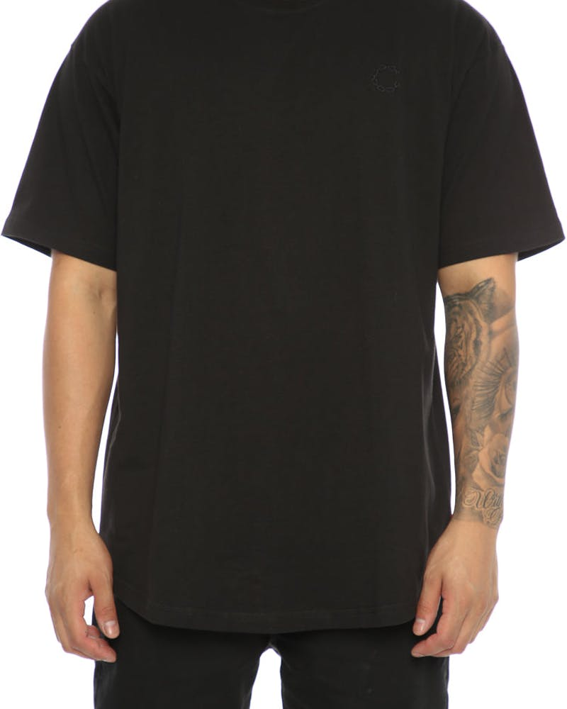 Crooks & Castles  Essential Chain C Tee Black
