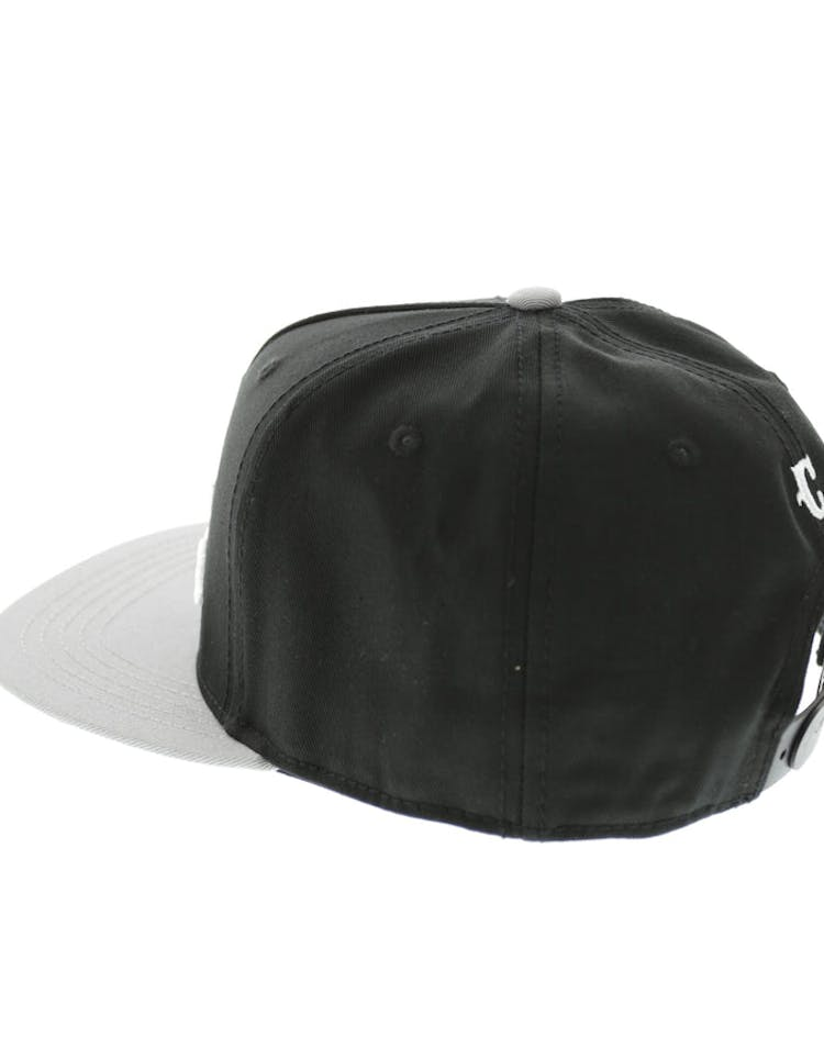 Crooks & Castles Team Crooks Snapback Cement/Black