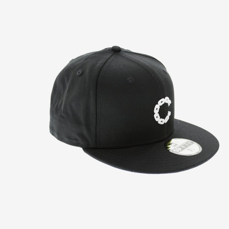 Crooks & Castles Micro Chain Fitted Black