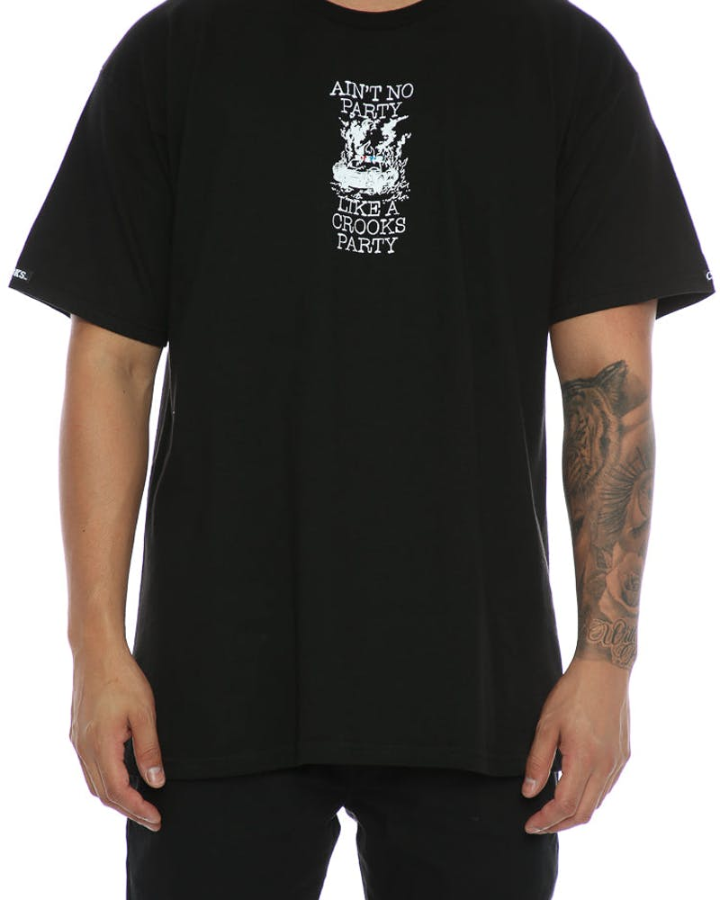 Crooks & Castles Socialist Tee Black