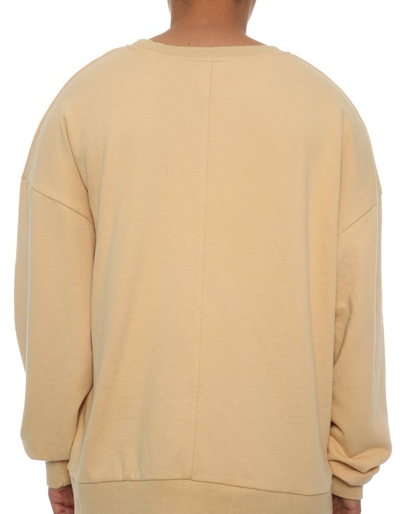 Saint Morta Cobain Oversized Sweater Beige