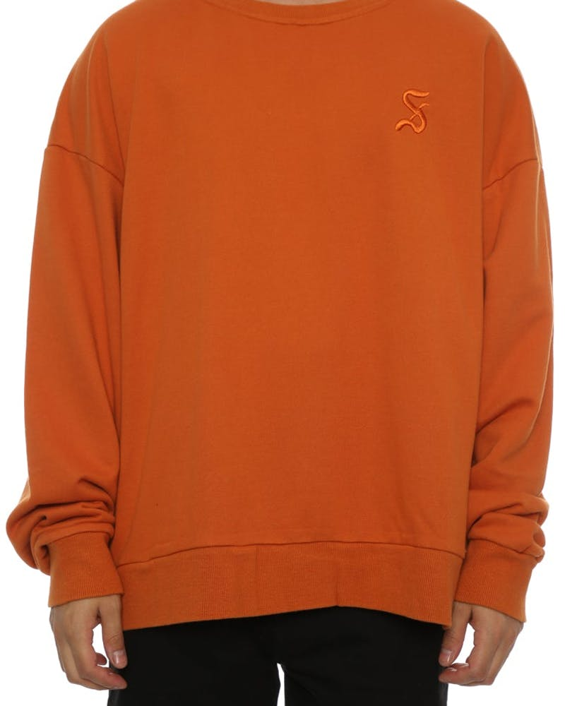 Saint Morta Gothic Oversized Sweater Mud Orange