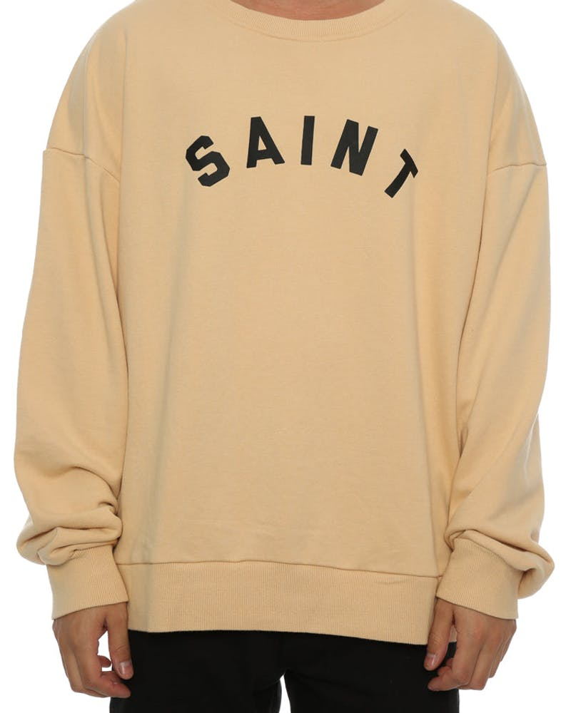 Saint Morta Standard Oversized Sweater Beige