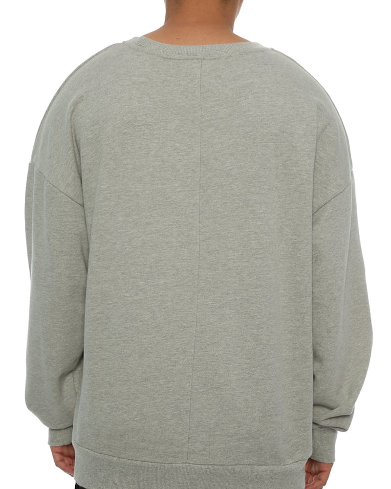 Saint Morta Standard Oversized Sweater Grey