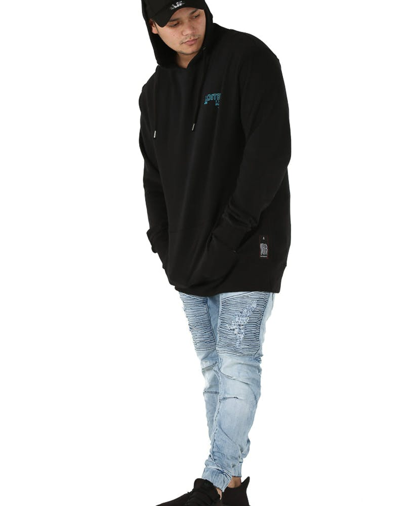 Loiter NYC Forbidden Language Hood Black