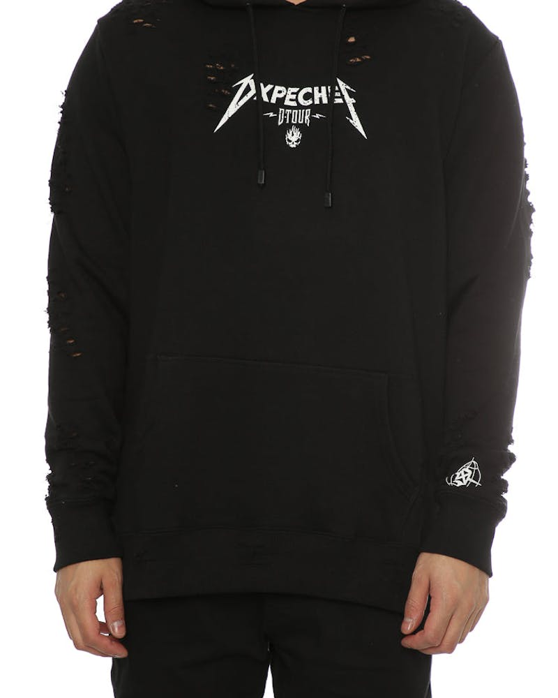 Dxpe Chef DISTRESSED TOUR HOOD Black