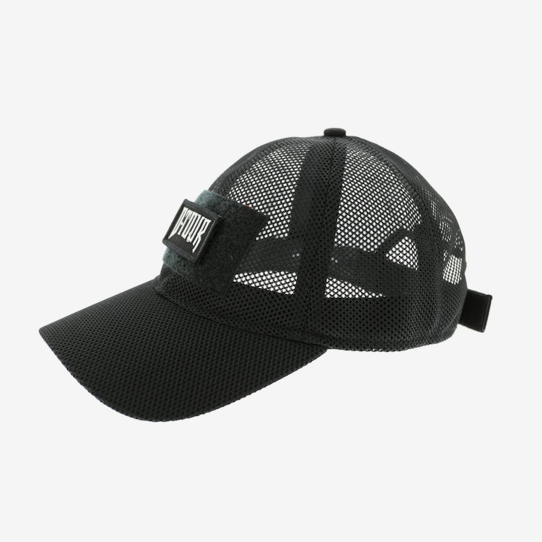 Dxpe Chef Military Patch Mesh Velcro Back Black