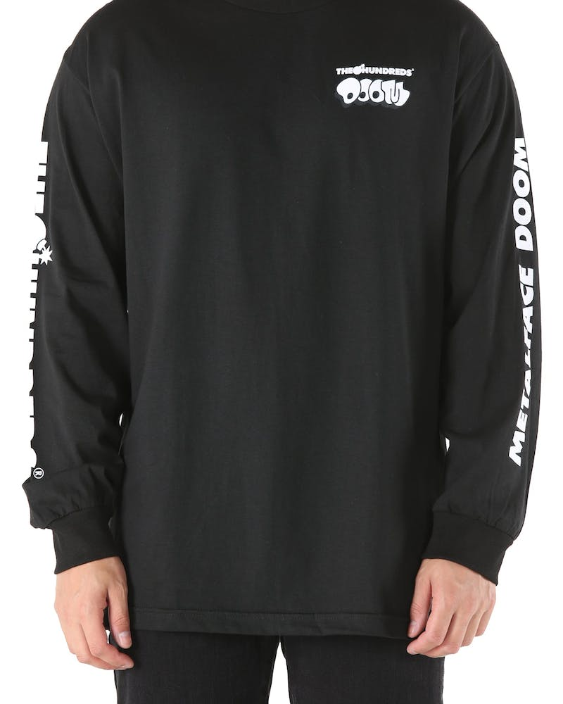 The Hundreds Doom Mask Long Sleeve Tee Black