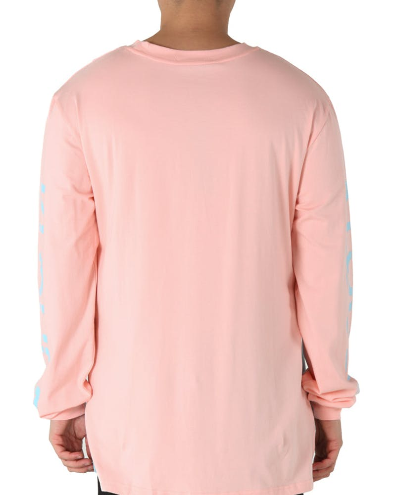 Kloude Clothing Xavier L/S Tee Pink/Blue