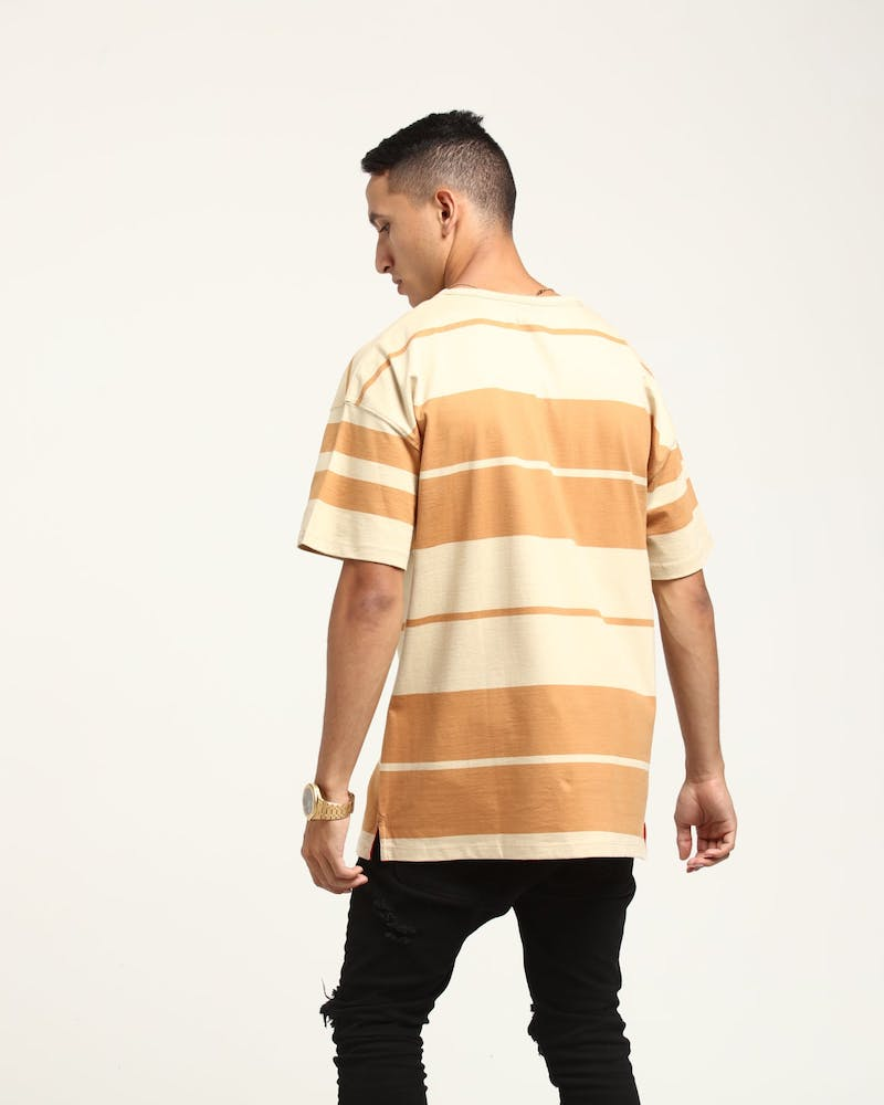 Well Made Chamberlain Tee Camel/Bone