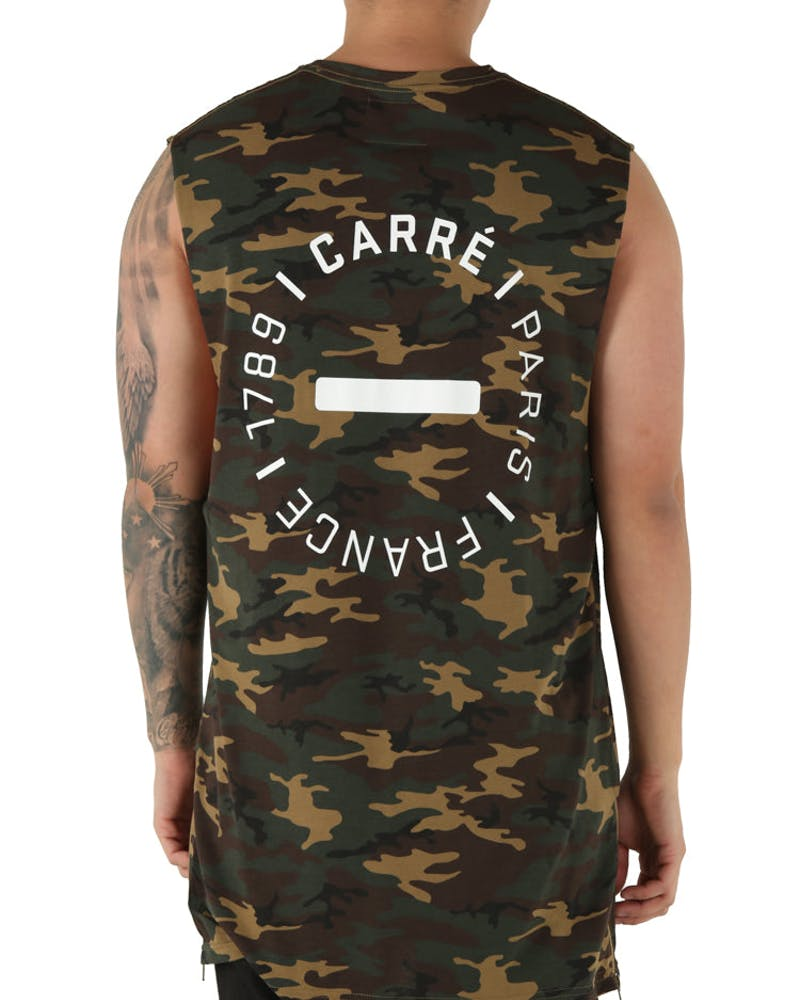 Carré Turn Capone Muscle Tee Camo