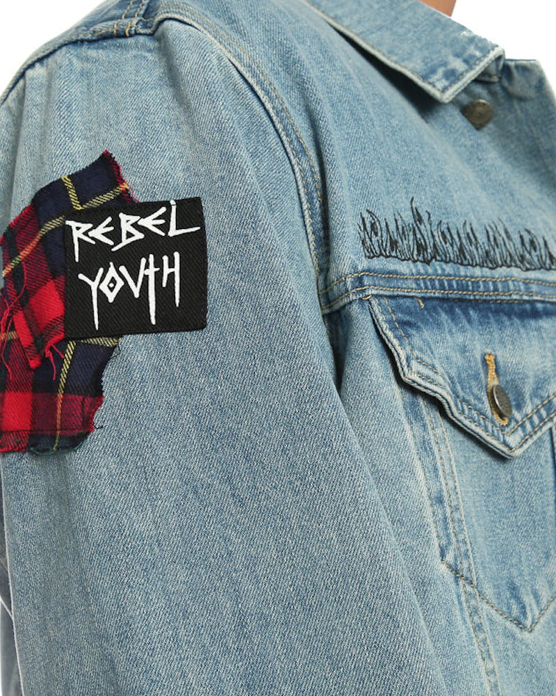Civil Regime Rebellion Denim Jacket Indigo