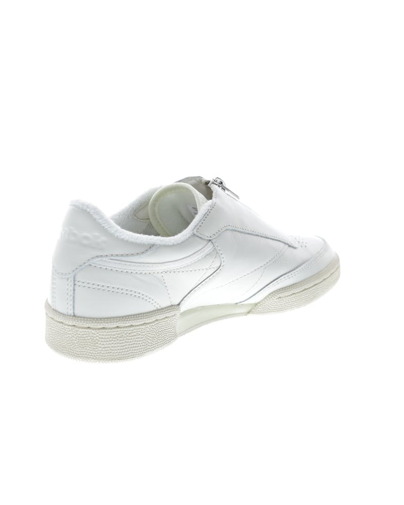 Reebok Women's Club C 85 Zip Off White/White