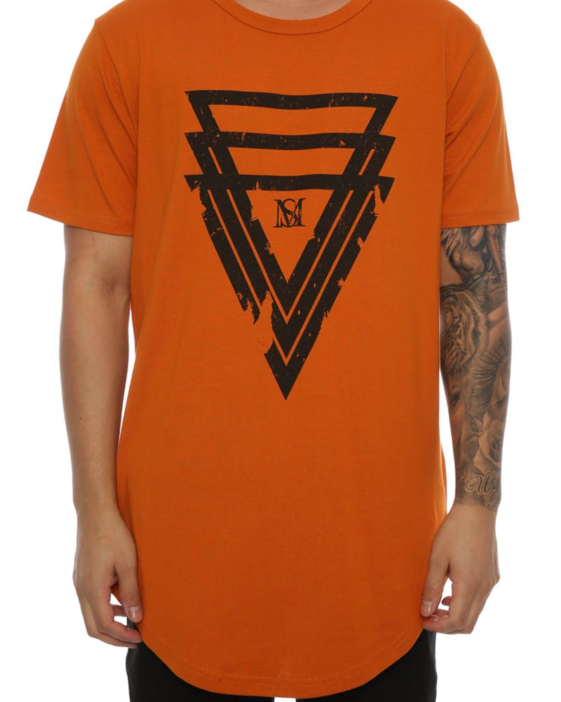 Saint Morta Bipartisan SS El Duplo 2 Tee Mud Orange